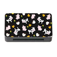 The Farm Pattern Memory Card Reader With Cf by Valentinaart