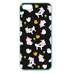 The Farm Pattern Apple Seamless Iphone 5 Case (color)