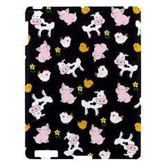 The Farm Pattern Apple Ipad 3/4 Hardshell Case by Valentinaart