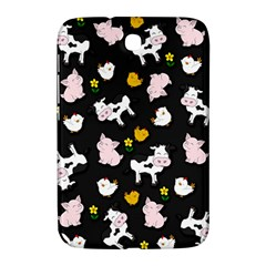 The Farm Pattern Samsung Galaxy Note 8 0 N5100 Hardshell Case  by Valentinaart