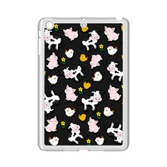 The Farm Pattern Ipad Mini 2 Enamel Coated Cases by Valentinaart