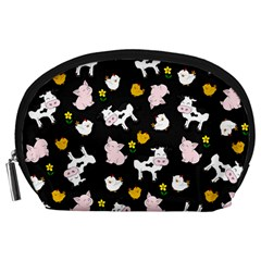 The Farm Pattern Accessory Pouches (large)