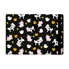 The Farm Pattern Ipad Mini 2 Flip Cases by Valentinaart