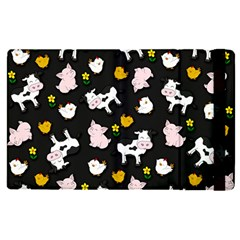 The Farm Pattern Apple Ipad Pro 9 7   Flip Case