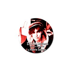 Valerie Solanas Golf Ball Marker by Valentinaart