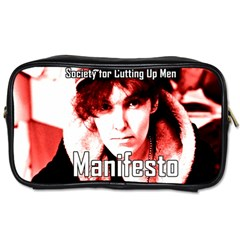 Valerie Solanas Toiletries Bags