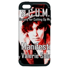 Valerie Solanas Apple Iphone 5 Hardshell Case (pc+silicone) by Valentinaart