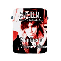 Valerie Solanas Apple Ipad 2/3/4 Protective Soft Cases by Valentinaart