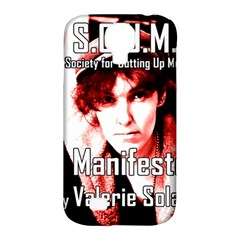 Valerie Solanas Samsung Galaxy S4 Classic Hardshell Case (pc+silicone) by Valentinaart