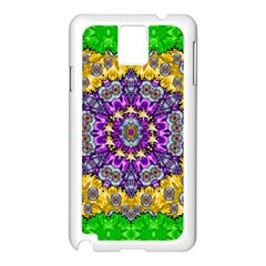 Sunshine In Mind The Season Is Decorative Fine Samsung Galaxy Note 3 N9005 Case (white) by pepitasart