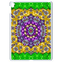 Sunshine In Mind The Season Is Decorative Fine Apple Ipad Pro 9 7   White Seamless Case by pepitasart