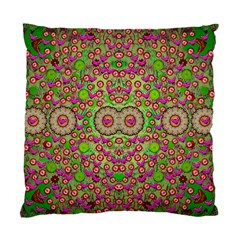 Love The Wood Garden Of Apples Standard Cushion Case (two Sides) by pepitasart