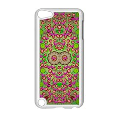 Love The Wood Garden Of Apples Apple Ipod Touch 5 Case (white) by pepitasart
