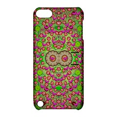 Love The Wood Garden Of Apples Apple Ipod Touch 5 Hardshell Case With Stand by pepitasart
