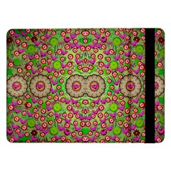 Love The Wood Garden Of Apples Samsung Galaxy Tab Pro 12 2  Flip Case by pepitasart