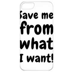 Save Me From What I Want Apple Iphone 5 Classic Hardshell Case by Valentinaart