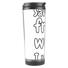 Save Me From What I Want Travel Tumbler by Valentinaart