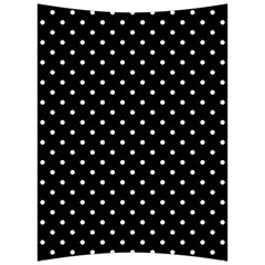 Black Polka Dots Back Support Cushion