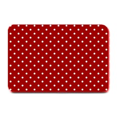 Red Polka Dots Plate Mats by jumpercat