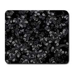 Dark Leaves Large Mousepads by jumpercat