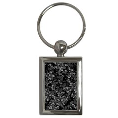 Dark Leaves Key Chains (rectangle)  by jumpercat
