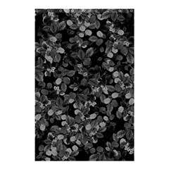 Dark Leaves Shower Curtain 48  X 72  (small)  by jumpercat