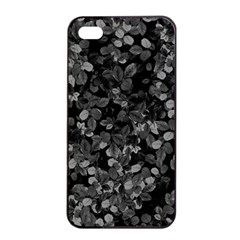 Dark Leaves Apple Iphone 4/4s Seamless Case (black) by jumpercat
