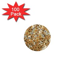 Leaves Autumm 1  Mini Magnets (100 Pack)