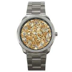 Leaves Autumm Sport Metal Watch by jumpercat