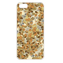 Leaves Autumm Apple Iphone 5 Seamless Case (white)
