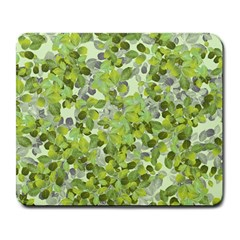 Leaves Fresh Large Mousepads