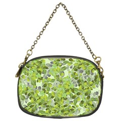 Leaves Fresh Chain Purses (two Sides)