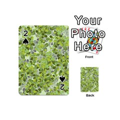 Leaves Fresh Playing Cards 54 (mini)  by jumpercat