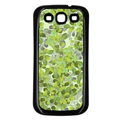 Leaves Fresh Samsung Galaxy S3 Back Case (black) by jumpercat