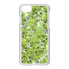 Leaves Fresh Apple Iphone 7 Seamless Case (white) by jumpercat
