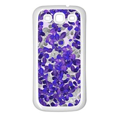 Mistic Leaves Samsung Galaxy S3 Back Case (white) by jumpercat