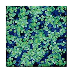 Moonlight On The Leaves Tile Coasters