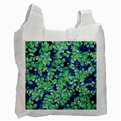 Moonlight On The Leaves Recycle Bag (one Side)