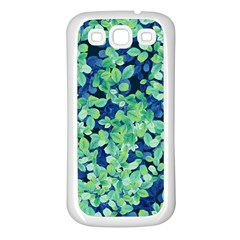 Moonlight On The Leaves Samsung Galaxy S3 Back Case (white) by jumpercat