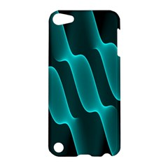 Background Light Glow Blue Green Apple Ipod Touch 5 Hardshell Case by Nexatart