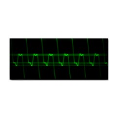 Background Signal Light Glow Green Cosmetic Storage Cases