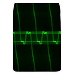 Background Signal Light Glow Green Flap Covers (l)  by Nexatart