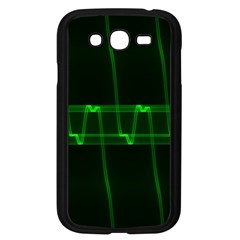 Background Signal Light Glow Green Samsung Galaxy Grand Duos I9082 Case (black)