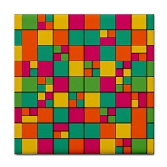 Abstract Background Abstract Tile Coasters by Nexatart