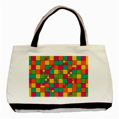 Abstract Background Abstract Basic Tote Bag
