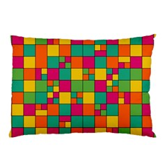 Abstract Background Abstract Pillow Case by Nexatart