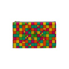 Abstract Background Abstract Cosmetic Bag (small)