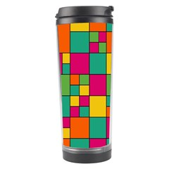 Abstract Background Abstract Travel Tumbler