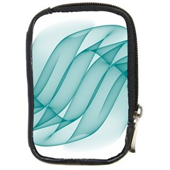 Background Light Glow Blue Compact Camera Cases