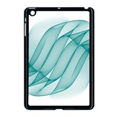 Background Light Glow Blue Apple Ipad Mini Case (black) by Nexatart
